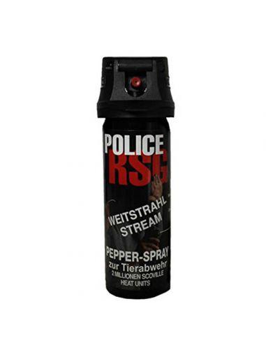 Profi-Pfefferspray RSG-B POLICE - Breitstrahl - 63ml_100118
