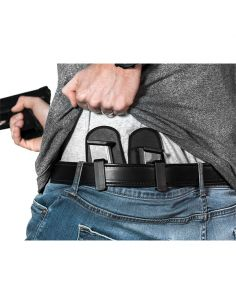 ALIEN GEAR HOLSTERS, 2er-Magazin Holster Single-Stack 9mm/.40cal (inside oder outside tragbar)_101120