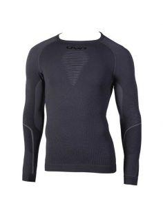UYN, Herren VISYON, langärmliges Unterhemd, Farbe blackboard/black/black_101888