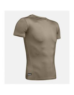 UNDER ARMOUR TACTICAL, T-Shirt Compression HeatGear (kühlend), federal tan_102206