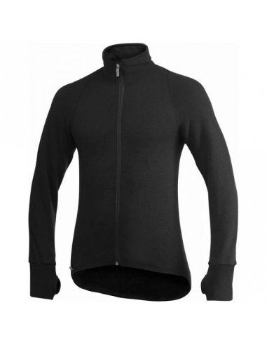 WOOLPOWER, Full-Zip Jacket 400 unisex, black_110094