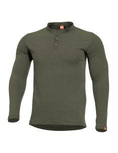 PENTAGON, Henley Shirt ROMEO, olive_110538