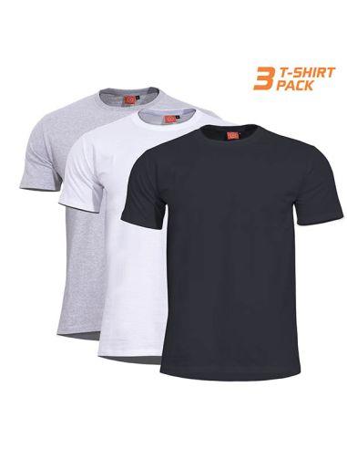 PENTAGON, T-Shirt ORPHEUS 3-er Pack black/grey/white_110579