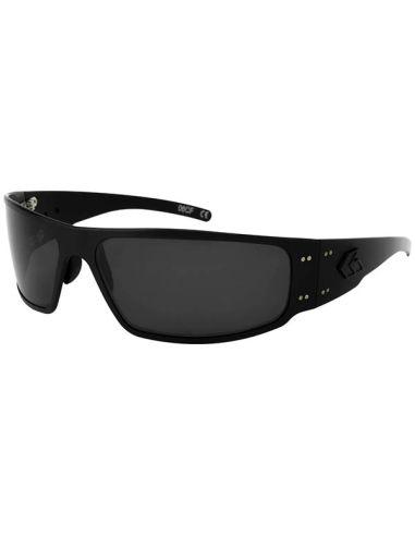 GATORZ Sonnenbrille MAGNUM BLACKOUT Spezial-Linsen optimiert polarisiert (Blackout/Smoked OPz Lens)_112121
