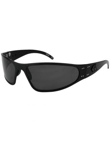 GATORZ Sonnenbrille WRAPTOR BLACKOUT, polarisiert (Blackout/Smoked Polarized)_112329