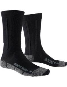 X-SOCKS COMBAT SILVER, black/stone grey_112465