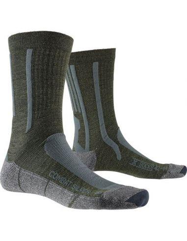 X-SOCKS COMBAT SILVER, olive green/anthrazit_112532