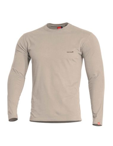 PENTAGON, langarm Shirt AGERON, khaki_112644