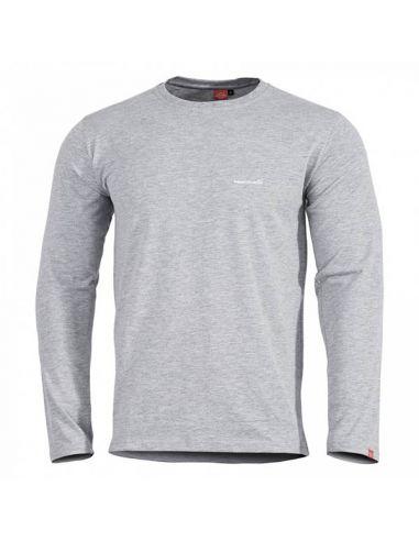 PENTAGON, langarm Shirt AGERON, melange_112652