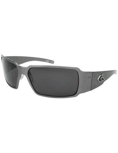 GATORZ Sonnenbrille BOXSTER polarisiert (Gun Metal / Smoked Polarized)_112803