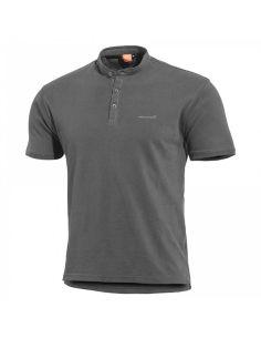 PENTAGON, Henley T-Shirt LEVANTES, wolf grey_113397