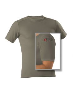 COMFORTRUST, T-Shirt 1/4, unisex, olive_114020