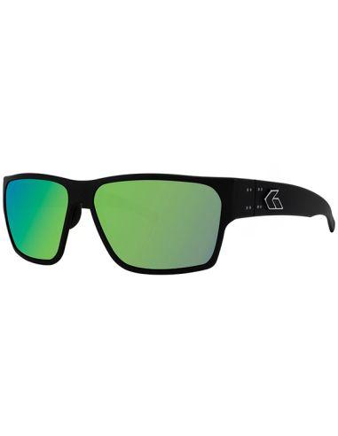 GATORZ Sonnenbrille DELTA polarisiert (Matte Black / Brown Polarized w/ Green Mirror)_114110