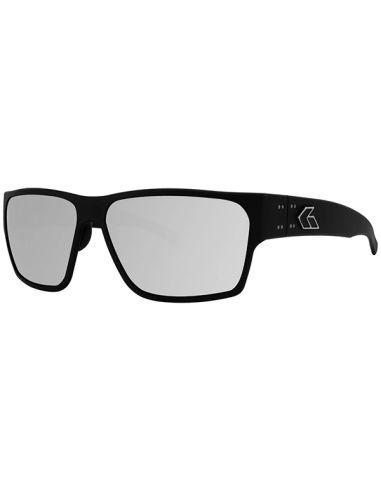 GATORZ Sonnenbrille DELTA polarisiert (Matte Black / Smoke Polarized w/ Chrome Mirror)_114118