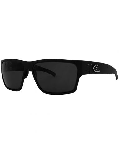 GATORZ Sonnenbrille DELTA polarisiert (Matte Blackout / Smoked Polarized)_114122