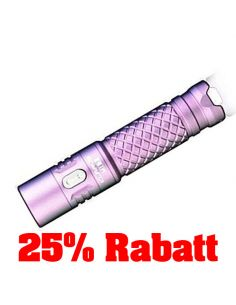 25% Rabatt: KLARUS, LED Taschenlampe Mi7, 700 Lumen (inkl. AA-Batterie), lavender (light pink)_114489