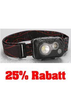 25% Rabatt: KLARUS, LED Stirnlampe HC1-R, 300 Lumen, 2-farbig (inkl. Batterien)_114493