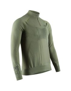 X-BIONIC RACOON 4.0 TRANSMISSION LAYER Zip Up Unisex, olive green_114637