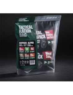 TACTICAL FOODPACK, Tactical Six Pack ALPHA, 595g_115381