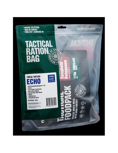 TACTICAL FOODPACK, 1 Menu-Packet ECHO, 347g_115626