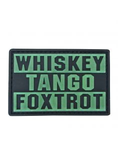 CHARLIE MIKE, Morale Patch WHISKEY TANGO FOXTROT_116010