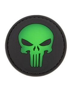 CHARLIE MIKE, Morale Patch ROUND PUNISHER GLOW_116021