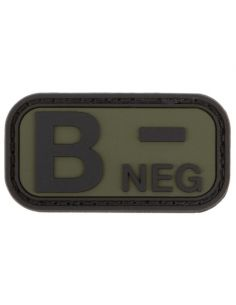 CHARLIE MIKE, Morale Patch BLUTGRUPPE B- NEG_116030