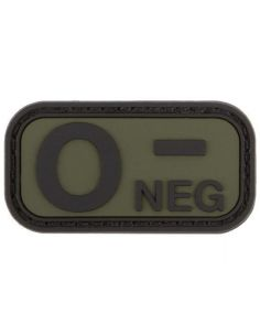 CHARLIE MIKE, Morale Patch BLUTGRUPPE 0- NEG_116038