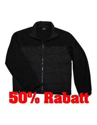 50% Rabatt: BLAUER, Softshell Hybrid Jacket, black_116207