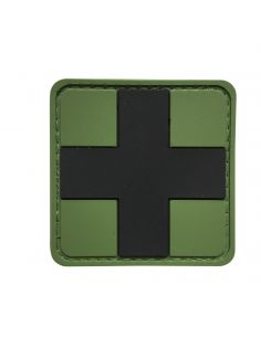 CHARLIE MIKE, Morale Patch MEDIC CROSS GREEN_116212