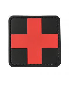 CHARLIE MIKE, Morale Patch MEDIC CROSS RED_116214