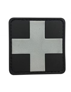 CHARLIE MIKE, Morale Patch MEDIC CROSS GREY_116216