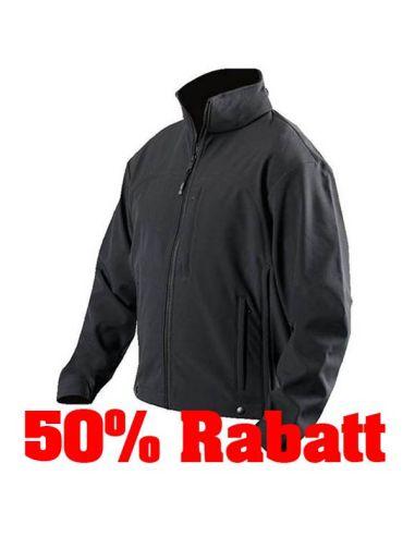 50% Rabatt: BLAUER, Softshell Flece Jacket, black_116250