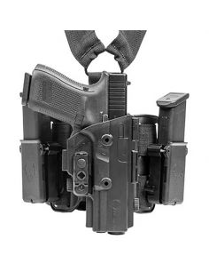 ALIEN GEAR HOLSTERS, Glock 17/22/31 Holster, ShapeShift Drop Leg Holster_116476