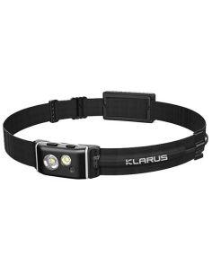 KLARUS, LED Stirnlampe HR1 PRO black, 400 Lumen (inkl. Akku)_117420