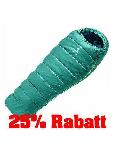 25% Rabatt: DEUTER Kunstfaserschlafsack, STARLIGHT PRO, alpinegreen-navy_117947