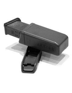 WARRIOR ASSAULT SYSTEMS, Polymer 9mm Pistol Mag Pouch, black_118612