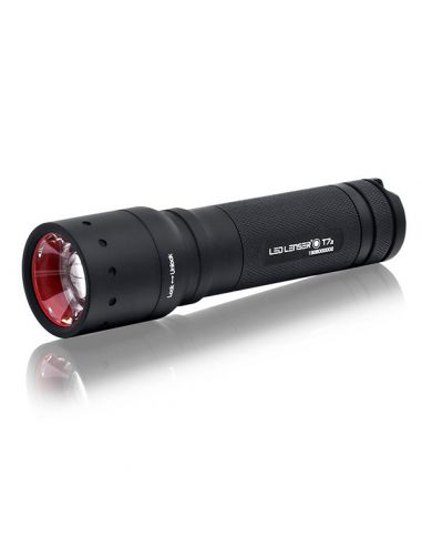 LED LENSER Taschenlampe T7.2 - 320 Lumen, inkl. 4 AAA-Batterien_48578