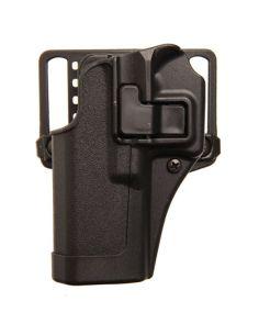 BLACKHAWK! PISTOLENHOLSTER SERPA Auto Lock System BLACK MATT, LINKSHAND_62904