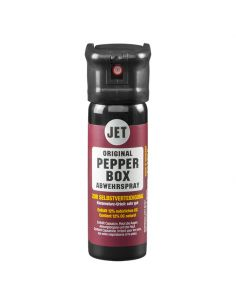 TW1000 / PEPPER BOX, Pfefferspray Modell PEPPER-STRAHL, 63ml (ballistischer Flüssigstrahl)_65378