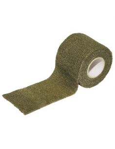 TARNBAND SELBSTHAFTEND 5 cm. x 4,5 m. OLIVE_67440