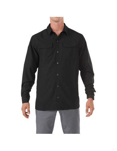 5.11 TACTICAL SERIES FREEDOM FLEX WOVEN Hemd, black_78774