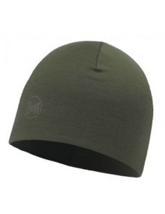 BUFF PROFESSIONAL, COLD Protection Headwear, MERINO WOOL THERMAL HAT, solid cedar_91306