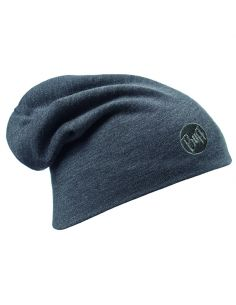 BUFF PROFESSIONAL, COLD Protection Headwear, HEAVYWEIGHT MERINO WOLL HAT, solid grey_91376