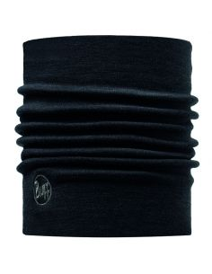 BUFF PROFESSIONAL, COLD Protection Neckwear, HEAVYWEIGHT MERINO WOOL NECKWARMER, solid black_91383