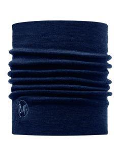 BUFF PROFESSIONAL, COLD Protection Neckwear, HEAVYWEIGHT MERINO WOOL NECKWARMER, solid denim_91391