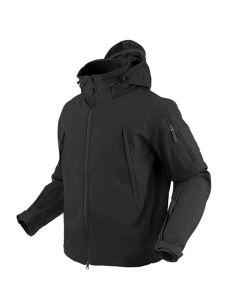 CONDOR OUTDOOR Softshell Jacke SUMMIT 602, schwarz (mit Kapuze)_98954