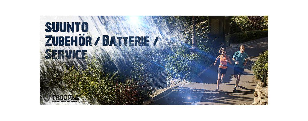 Suunto Zubehör & Batterien