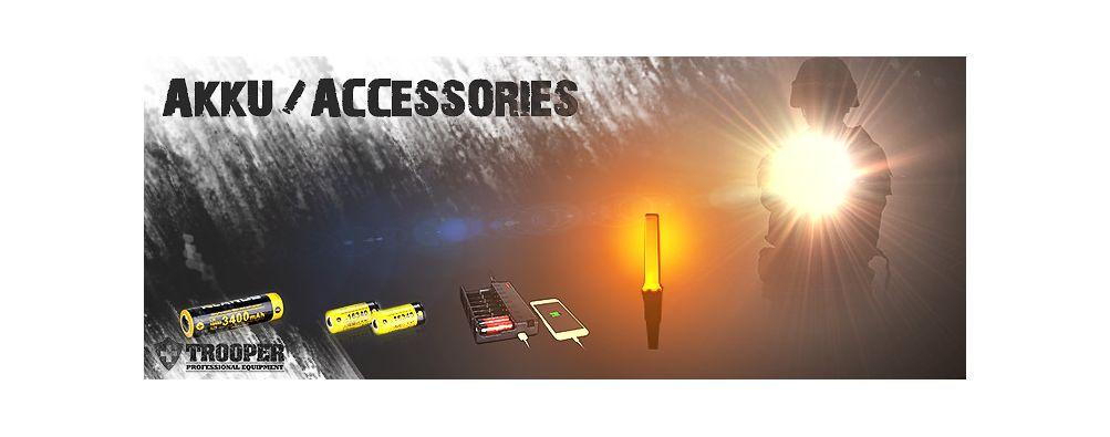 Klarus Akkus / Accessories