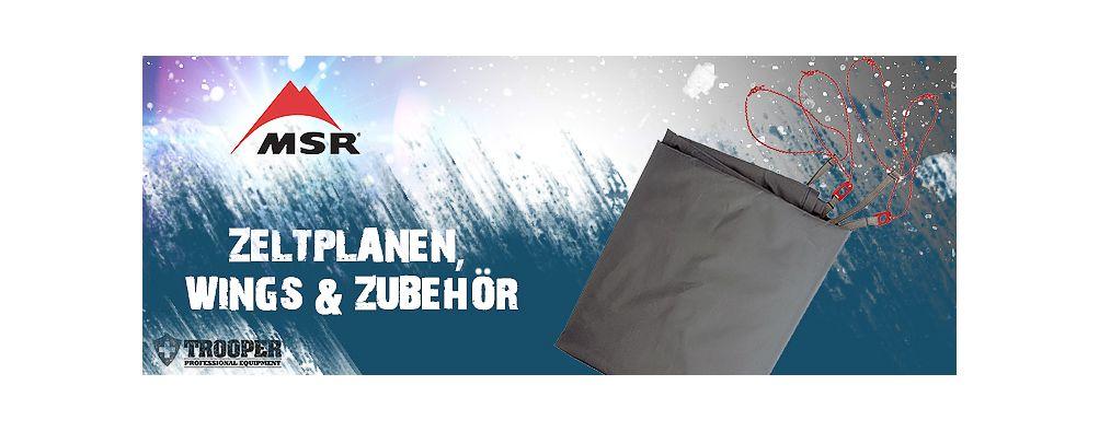MSR Zeltplanen, Wings & Zubehör